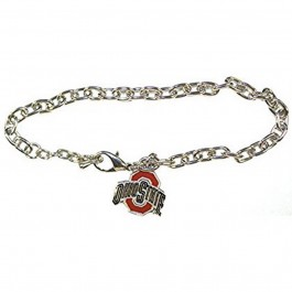 NCAA Officially Licensed Ohio State Buckeyes Logo Chain Bracelet
