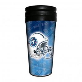 NFL Licensed 12 oz Repeater Insulated Travel Cup (Tennessee Titans)