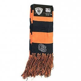NCAA Licensed Oregon State Beavers Striped Fringed Scarf
