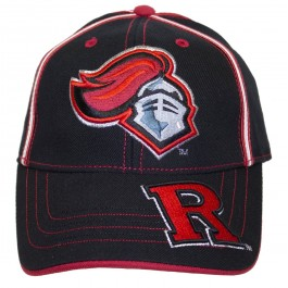 NCAA Officially Licensed Rutgers Scarlet Knights Two Tone Embroidered Hat Cap Lid