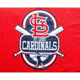 MLB Licensed St Louis Cardinals 2013 Sleeveless Youth T-Shirt (Medium)