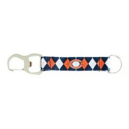 Chicago Bears Argyle Carabiner Lanyard Key Chain
