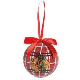 Chicago Blackhawks 100 MM LED Ball Ornament