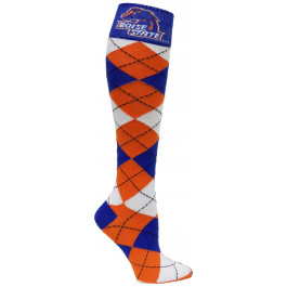 Boise State Broncos Argyle Dress Socks