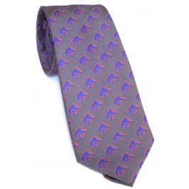 NCAA Officially Licensed Boise State Broncos Repeater Silk Necktie