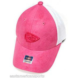 Kansas City Chiefs Womens Pink Suede Hat Cap Lid - Kansas City ... a0f586dfd3