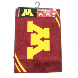 Minnesota Golden Gophers 2 Piece Rectangular Rug Set