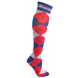Gonzaga Bulldogs Argyle Dress Socks