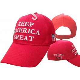 Trump Keep America Great Red Ball Cap Hat
