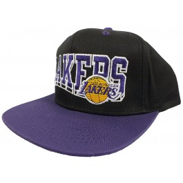 Los Angeles Lakers Vintage Adjustable Flat Bill Hat