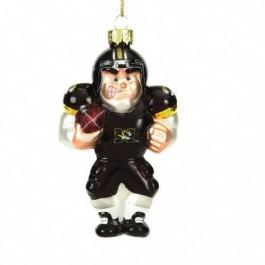 Missouri Tigers Angry Man Football Player Ornament