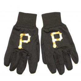 MLB Pittsburgh Pirates Metalic Logo Utility Gloves