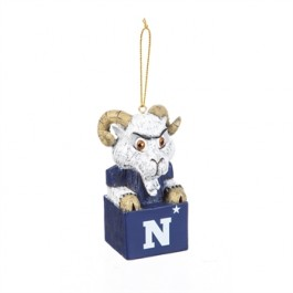 Navy Midshipman Tiki Mascot Ornament