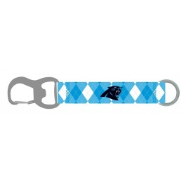 Carolina Panthers Argyle Carabiner Lanyard Key Chain
