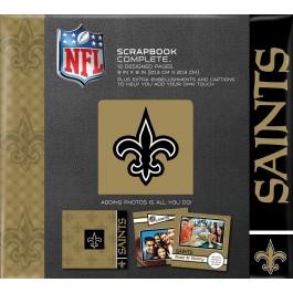 """New Orleans Saints 8"""" X 8"""" Complete Scrapbook"""