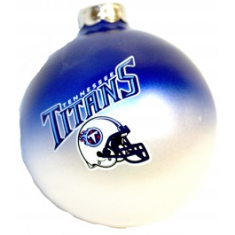 Tennessee Titans Team Color Round Ball Ornament