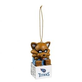Tennessee Titans Tiki Mascot Ornament