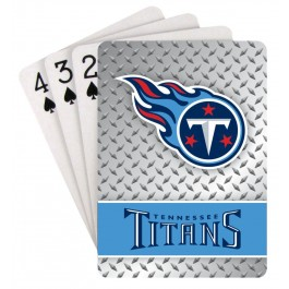 Tennessee Titans Team Playing Cards