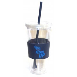 "Tennessee Titans ""Titan Up"" 22 oz Slogan Tumbler"