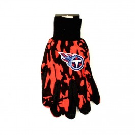 Tennessee Titans Team Color Camo Utility Gloves