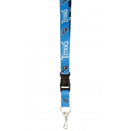 Tennessee Titans Team Color Breakaway Keychain Lanyard