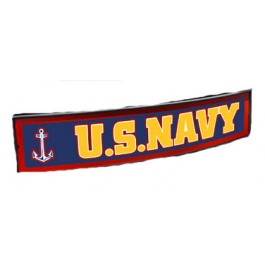 United State Navy Light Up Trailer Hitch Cover