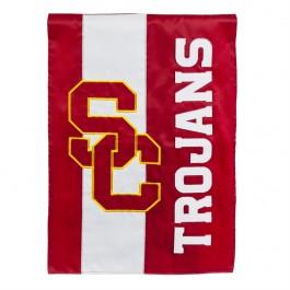 USC Trojans Embellish Garden Flag