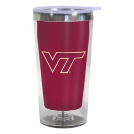 Virginia Tech Hokies 16-Ounce Color Change Tumbler with Lid