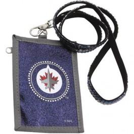 Winnipeg Jets Beaded Lanyard I.D. Wallet
