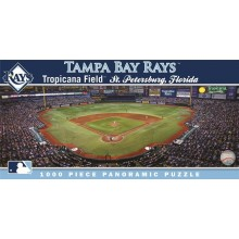 Tampa Bay Rays 1000 Pc. Panoramic Puzzle