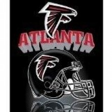 Atlanta Falcons Black Football Embroidered Headwear