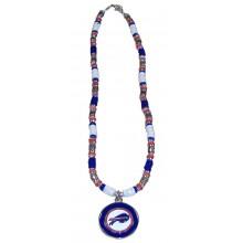 Buffalo Bills Shell Necklace, 18-Inch, White