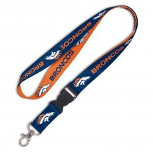 Denver Broncos Team Color Breakaway Keychain Lanyard