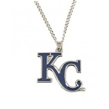 Kansas City Royals Crown Logo Chain Necklace 22""