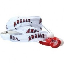 LA Angels Shoelace Earbuds