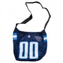 NFL Officially Licensed Tennessee Titans Veteran Jersey Tote Bag