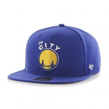 NBA Officially Licensed Golden State Warriors No Shot 47 Captain Flatbill Hat Cap Lid