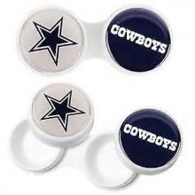 Dallas Cowboys 2 Pack Contact Lens Case