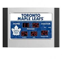 Toronto Maple Leafs Scoreboard Alarm Clock