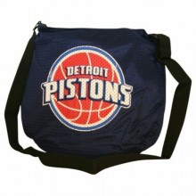 NBA Officially Licensed Detroit Pistons Jersey Purse Tote Bag