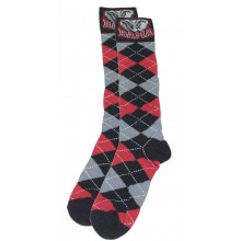 Alabama Crimson Tide Argyle Dress Socks