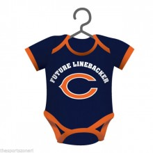 Chicago Bears Baby Bodysuit Ornament