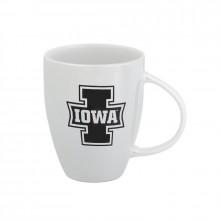 Iowa Hawkeyes 18 oz White Luster Cup