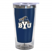 Brigham Young Cougars 16-Ounce Color Change Tumbler with Lid