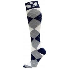 Brigham Young Cougars Argyle Dress Socks