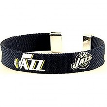 NBA Officially Licensed Utah Jazz Ribbon Bracelet
