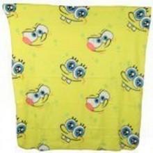 """Officially Licensed Nickelodean Spongebob Squarepants """"Eyes"""" Throw Blanket 50..."""