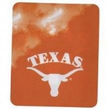 NCAA Officially Licensed Texas Longhorns Smoke Fleece Throw Blanket