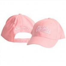 NCAA Ole Miss Pink Yardline Adjustable Baseball Hat