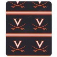 Officially Licensed University of Virginia Cavaliers 2 Bar Fleece Throw Blanket